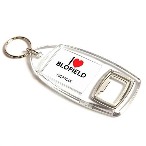 Flaschenöffner – I Love Blofield – Norfolk