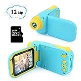 Bestcool Kinder Digitalkamera 2,4 Zoll Bildschirm Kleinkind Kameras ini Wiederaufladbare1080P HD Kinder Video Rekord Kamera mit 32 GB SD-Karte Für Jungen Mädchen Alter -