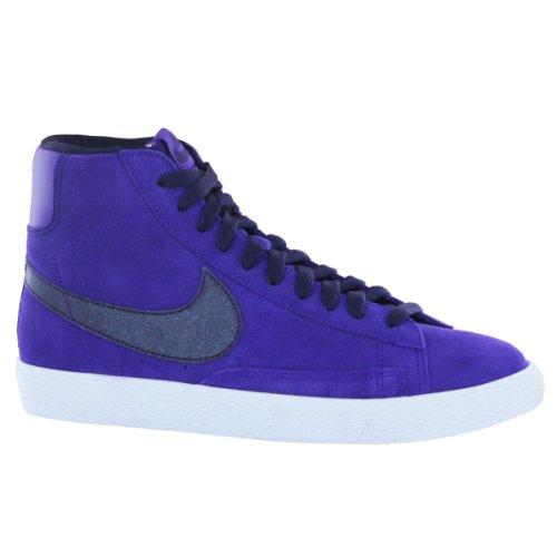 Nike Blazer Mid Vintage, Taglia Viola-Nero Glitter-37.5