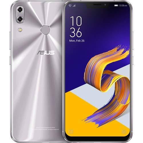 Asus ZS620KL-2H025EU Smartphone Zenfone, Android Oreo, 6.2'' FHD + 2246 x 1080 Pixel, Qualcomm Snapdragon 845 Octa-core (2.8 Ghz), 8 GB di RAM, 256 GB di Memoria, Meteor Silver