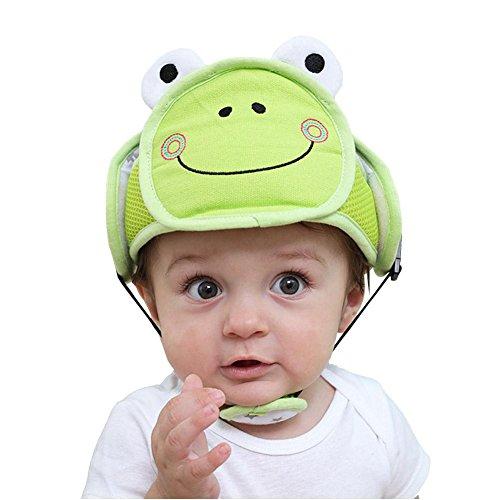 Gegen Stöße Baby Kopfbedeckung Anti-Sturz-Hut Babyschutzhelm Baby-Kopf-Schutz Bruchsicherer Hut Kleinkind Hut Schutzhülle Schutzkappe Kind Anti-Crash-Cap Baby Schutzhelm 42-62 cm (einstellbar)