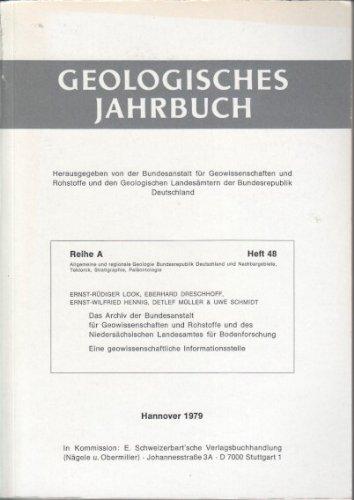 Das Archiv der Bundesanstalt für Geowissenschaften und Rohstoffe und des Niedersächsischen Landesamtes für Bodenforschung : e. geowiss. Informationsstelle.