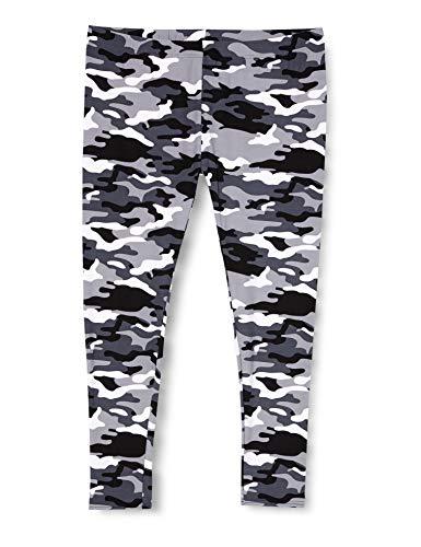 Urban Classics TB1331 Damen und Mädchen Camo Leggings, lange Camouflage Sporthose für Frauen, Yogahose, snow camo , XS