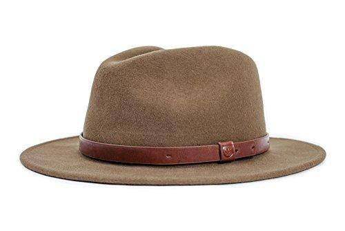 BRIXTON Herren Messer Hat, Light Olive, L