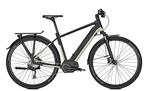"Kalkhoff Entice 5.B Tour Bosch 2019 - Bicicleta eléctrica, color Magicblack/Cloudbeige matt Herren, tamaño 28"" Herren Diamant M/48cm, tamaño de rueda 28.00"