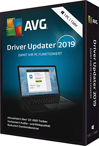 AVG Driver Updater 2019 - 1 PC / 1 Jahr|2019|1 PC / 1 Jahr|12 Monate|PC, Laptop|Download|Download