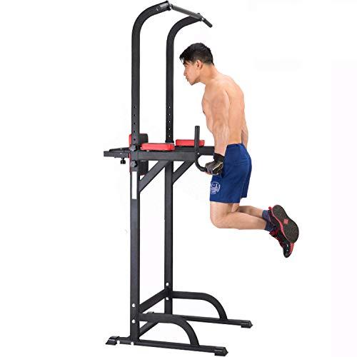 Speee Power Tower Supporti Multi-Funzione per Allenamento A Domicilio per Esercizi di Sollevamento Pesi Attrezzature da Palestra per L'allenamento Completo del Corpo