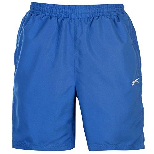 Slazenger Herren Gewebte Shorts Taschen Kontrast Details Royal Blau2 2XL