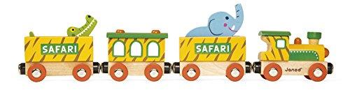Janod - J08541 - Story - Train Safari (bois)