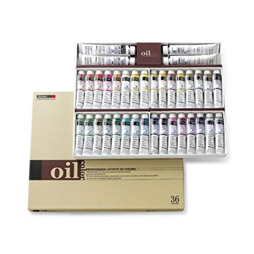 Shinhan Art Professional Artists' Oil Colors 36 Colors Tubes Set