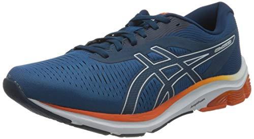 Asics Gel-Pulse 12, Road Running Shoe Hombre, Reborn Blue/Mako Blue, 46 EU