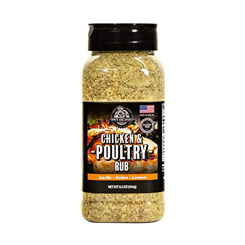 PIT BOSS 40325 Chicken & Poultry Rub Grill Spices, Multicolored
