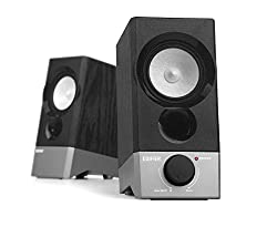 Black,Edifier USA 2.0 USB Computer Speakers (R19U),Edifier,R19U