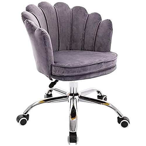 GGHHJ Gamingstühle, Freizeitstuhl Ergonomisch mit Heben verstellbar, Bürostuhl High-Density-Schwammkissen abnehmbar für Zuhause, Esszimmer (Color : D)