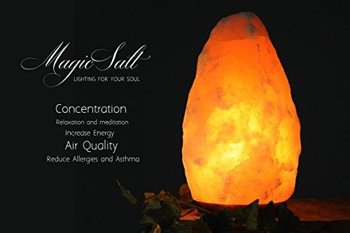 Lampara Mediana de Sal del Himalaya (2-3 k) En Caja Original - Magic Salt Lighting For Your Soul