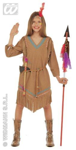 Widmann Indisches Kleid für Kinder (5/7 Jahre, 128 cm)