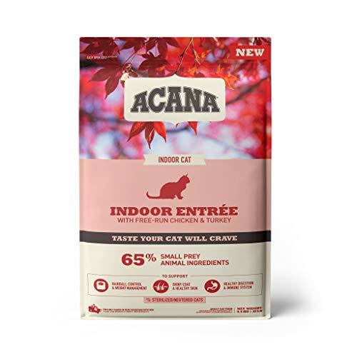ACANA 064992714512 Feline Indoor Entree Gato 4,5 Kg, Plástico