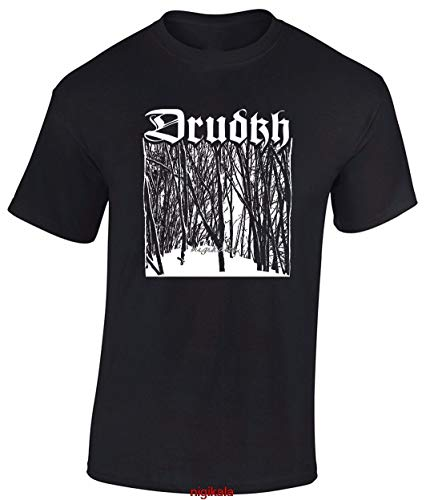 KPZ DRUDKH Birch T Shirt Absurd Nokturnal Mortum Mgla Wolves in Throne Room Agalloch O-Neck Sunlight Men T-Shirt Top Tee