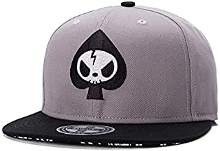 Unisex Embroidery Hip Hop Baseball Cap Adjustable Fitted Hats