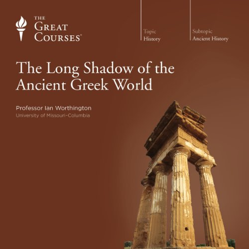 『The Long Shadow of the Ancient Greek World』のカバーアート