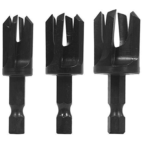 Make it Snappy Tools 3 Piece Tapered Plug Cutter Set