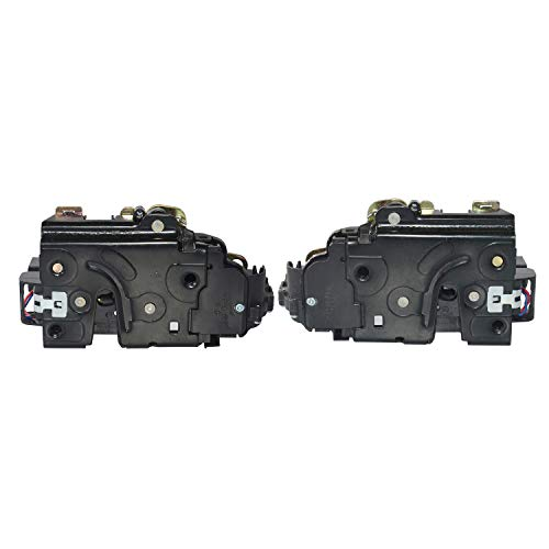 MSQ-CD 1 Paar Voorzijde Links & Rechts Centrale Deurvergrendeling Actuator 8N1837016B 8E1837016D