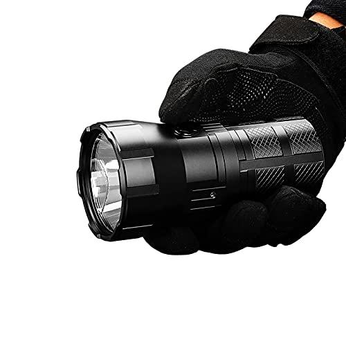 RT90 Linterna LED Recargable SBT-90.2ND 4800LM Linterna Impermeable De Alta Potencia, Utilizada para Búsqueda, Cueva, Linterna LED De Patrulla