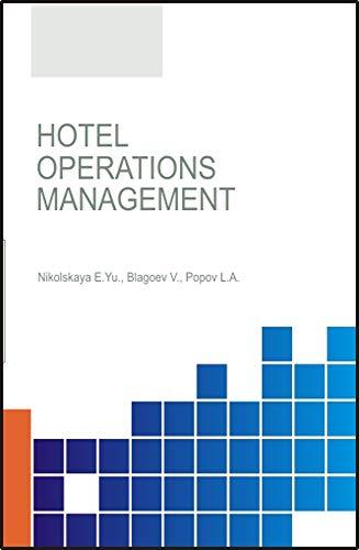 Hotel operations management. (English Edition)