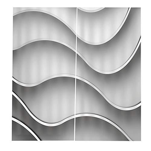 cortinas de cocina blancas