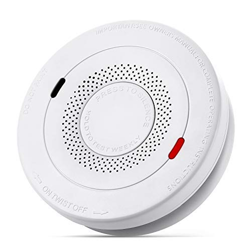 MOSUO Smoke and Carbon Monoxide Detector, Smoke Alarm 10 Year Lithium Battery Operated, Dual Sensor Smoke CO Alarm Complies with UL 217 & UL 2034 Standards, Auto-Check