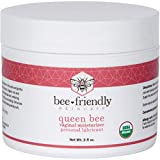 Organic Vaginal Moisturizer By BeeFriendly, USDA Certified, Natural Vulva Cream For Dryness, Itching