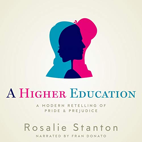 A Higher Education audiobook cover art