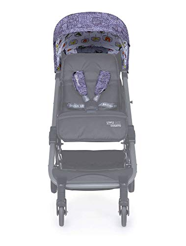 Cosatto UWU Mix Colour Pack – Update The Look of Your UWU Mix Stroller | Exciting Colourful Patterns (Dawn Chorus)