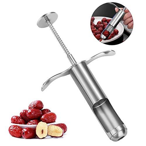 Justdolife Outil à Fruits en Acier Inoxydable pour Séparateur De Cerises Pitter Cherry pour Aubépine Jujube