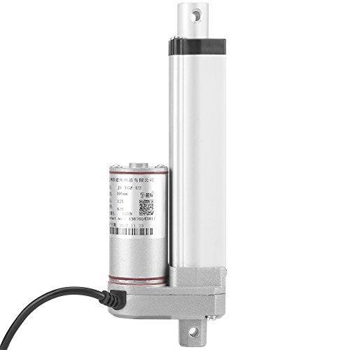 Jadpes Actuador Lineal, Motor eléctrico del Movimiento de Dc12v 140KG con el...