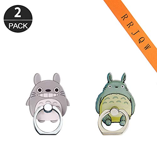 Phone Ring Holder Stand,Totoro Phone Ring Stand Holder 360 Rotation Finger Ring Grip Stand for Cellphones,Smartphones and Tablets