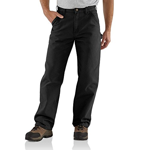 Carhartt Men's Washed Duck Work Dungaree Pant,...