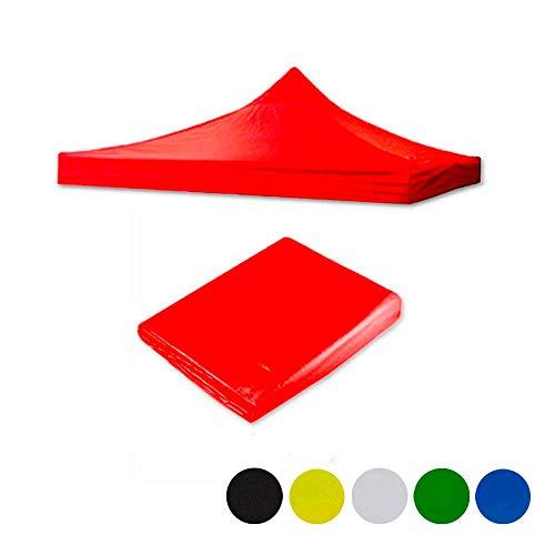 ilios innova Lona Impermeable para toldo 2×2 / 3×3 / 3×6 encolores difererentes, Materiales Resistentes…