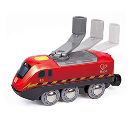 Hape International Crank Powered Train Treno Alimentato a Manovella, Multicolore, E3761