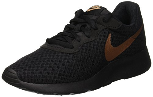 NIKE Women's Tanjun Black/Metallic Red Bronze Size 9.5 B(M) US