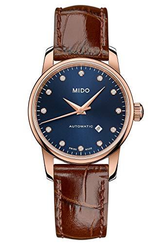 Mido Damen-Automatikuhr Baroncelli Midnight Blue Lady M7600.3.65.8