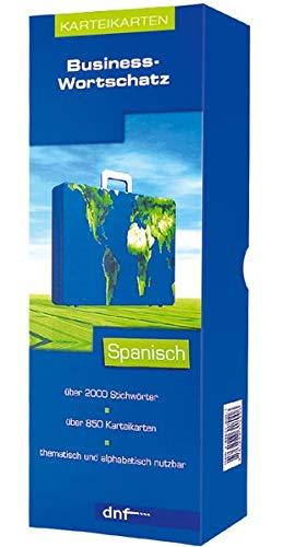 Business-Wortschatz Spanisch, Karteikarten