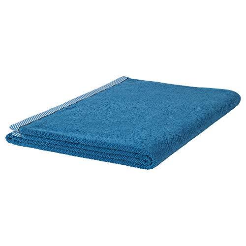 IKEA 904.147.36 Vikfjärd Badetuch, blau