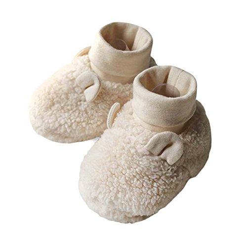 Coton Chaude Chaude Chaussures Chaussures Bébé Chaussures Souple Semelle Nouveau-né Bébés