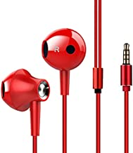 Wired Headphone Metal Earbuds by Amasing Noise Cancelling Stereo Heave Bass Earphones with Micphone Mic with Volume Control,in Ear Headphones Magnetic Design for iPhone 5 6 for Samsung M10 Black 2