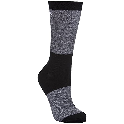 Trespass Herren Tippo Coolmax-Socken / Sportsocken (41-45 EUR) (Schwarz)