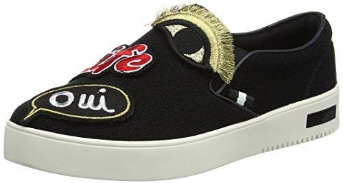 ALDO Damen Keacien Sneaker, Schwarz (KEACIEN-98), 38 EU (5 UK)