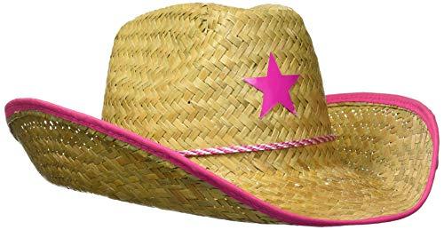 Beistle 1 pc. Straw Cowboy Hat For Children, Multicolor
