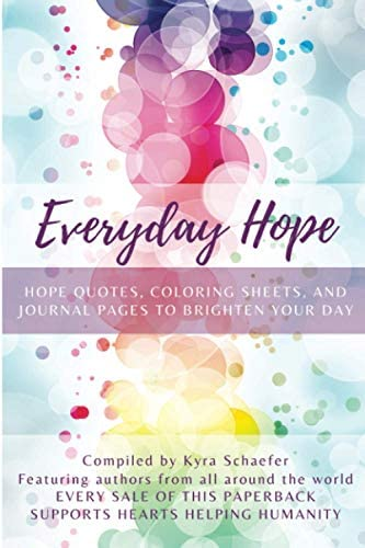 Everyday Hope Hope Quotes Coloring Sheets and Journal Pages to Brighten Your Day product image