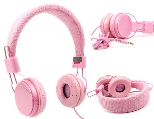 DURAGADGET Auriculares De Diadema Color Rosa para Monitor ASUS VX229H, VX239H, VX239W...